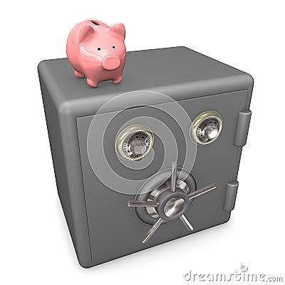 Piggybank Safe
