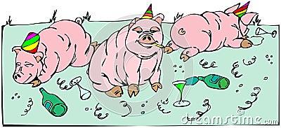 Pigs celebration