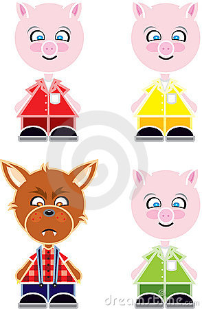 Pigs Puppets
