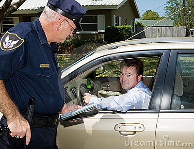 Pijana kierowca winna policji