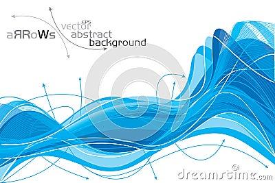 Pijlen - abstracte achtergrond