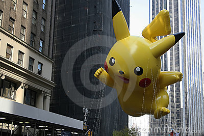 Pikachu Balloon. Editorial Photography