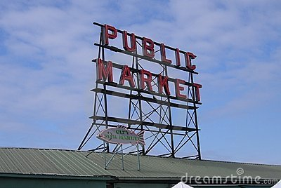 Pike Place Market - Seattle Editorial Photography