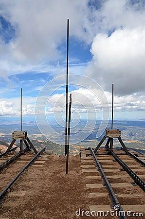Pikes Peak Cog Editorial Photography