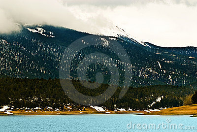 Pikes Peak Rocky Mountain Lake