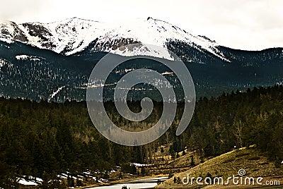 Pikes Peak Rocky Mountain Landscape