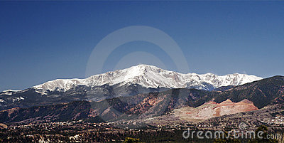 Pikes Peak & the Scar