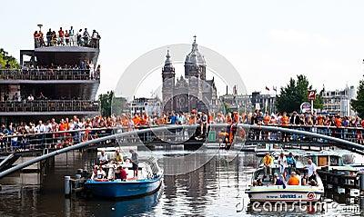 Piłki nożnej holenderska target1878_0_ drużyna Obraz Stock Editorial