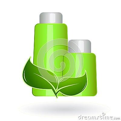 Piękna eco naturalni produkty