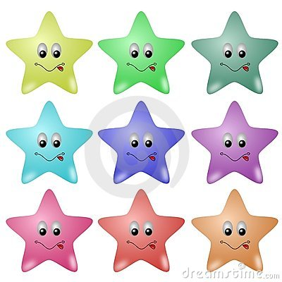 Piękne gwiazdy