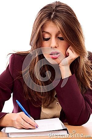 Piękny bizneswoman