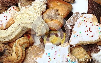 Pila di biscotti