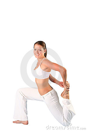 Pilates beauty girl