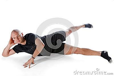 Pilates position