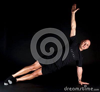 Pilates Position - Side Plank