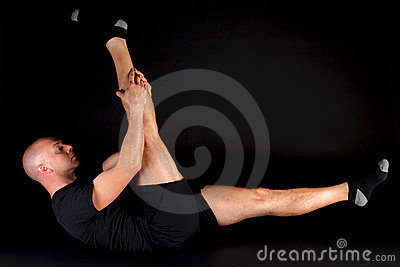 Pilates Position - Single Straight Leg