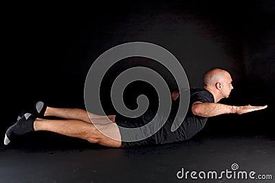 Pilates Position - Swan Dive