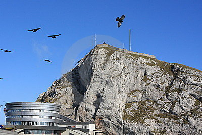 Pilatus mountain, landmark in Switzerland