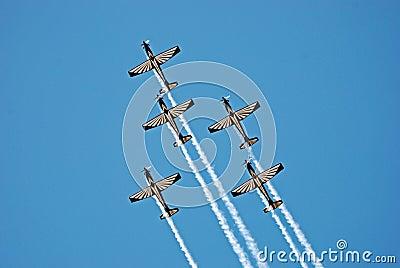 Pilatus PC-7 Mk II Astra Aerobatics Team Editorial Image