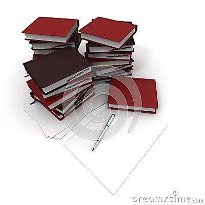 Pile of agendas