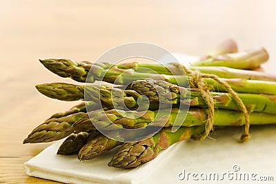 Pile of asparagus