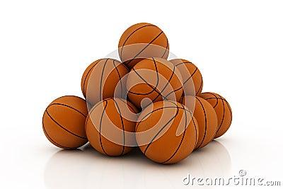 Pile Of Balls Royalty Free Stock Photos - Image: 3269658