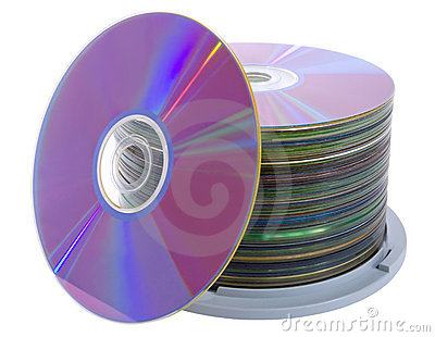 Pile of cd disks