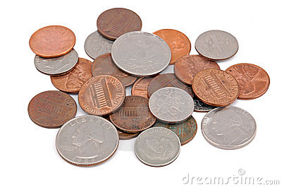 Pile of coin