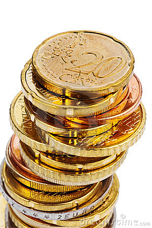 A Pile Of Coins