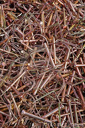Pile of Coupler Safety Pins