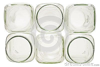 pile de conteneurs en verre vides image libre de droits image 13384706. Black Bedroom Furniture Sets. Home Design Ideas