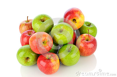 Pile des pommes de Smith de rafale et de mémé