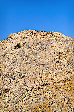 Pile of Dirt and Gravel