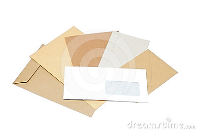 Pile of envelopes