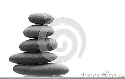 Stones pile, zen style
