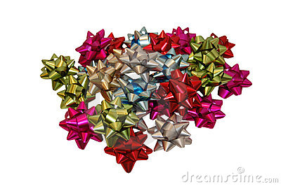 Pile of gift bows