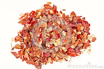 Pile of Hot Red Chilli Chillies pepper