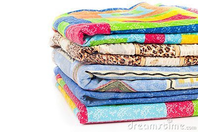 Pile of linen