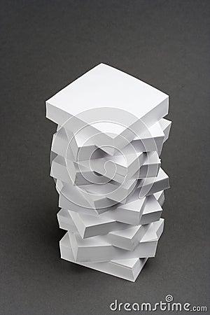 A pile of memo