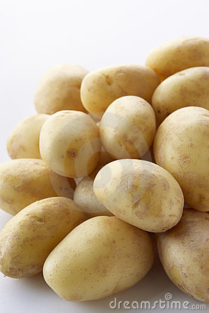 Pile Of New Potatoes