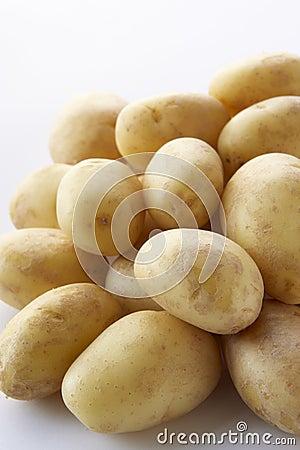 Pile Of New Potatoes