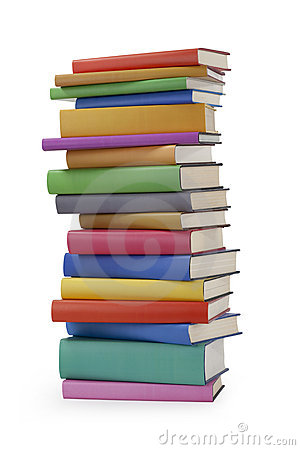 Free Pile Of Books Stock Photography - 17856192