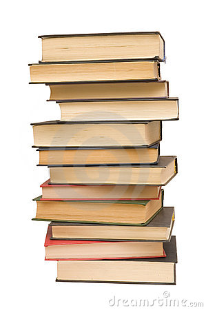 Free Pile Of Books Royalty Free Stock Photos - 380988