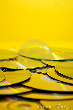 Free Pile Of Cds Stock Images - 1063864