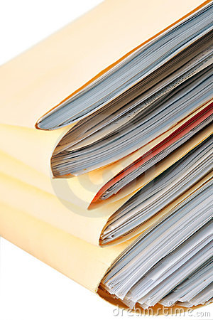 Free Pile Of Files Stock Photo - 2329220