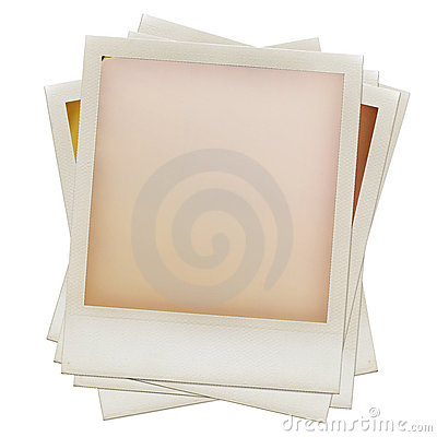 Free Pile Of Grungy Blank Instant Film Frames Royalty Free Stock Photo - 21328405