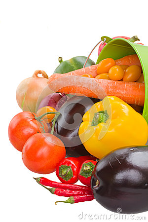 Free Pile  Of Vegetables Close Up Stock Photo - 34806980