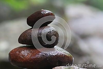 Pile pebble