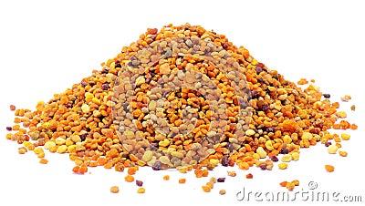 Pile of pollen