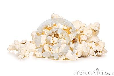 Pile of popcorn